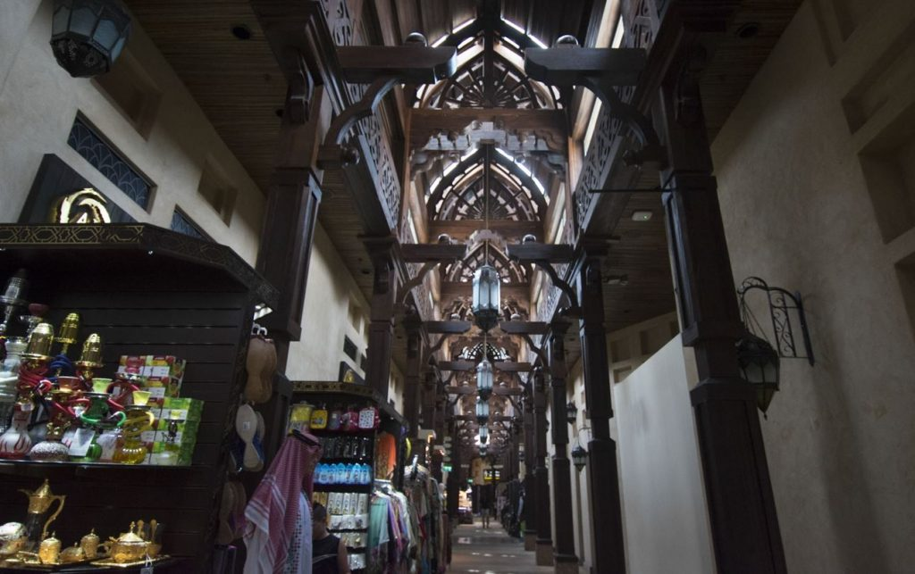 Inside Souk Madinat Jumeirah