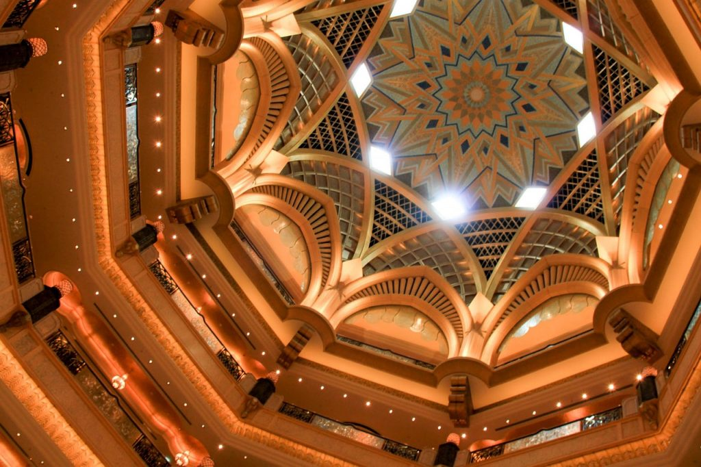 Emirate's Palace ceiling