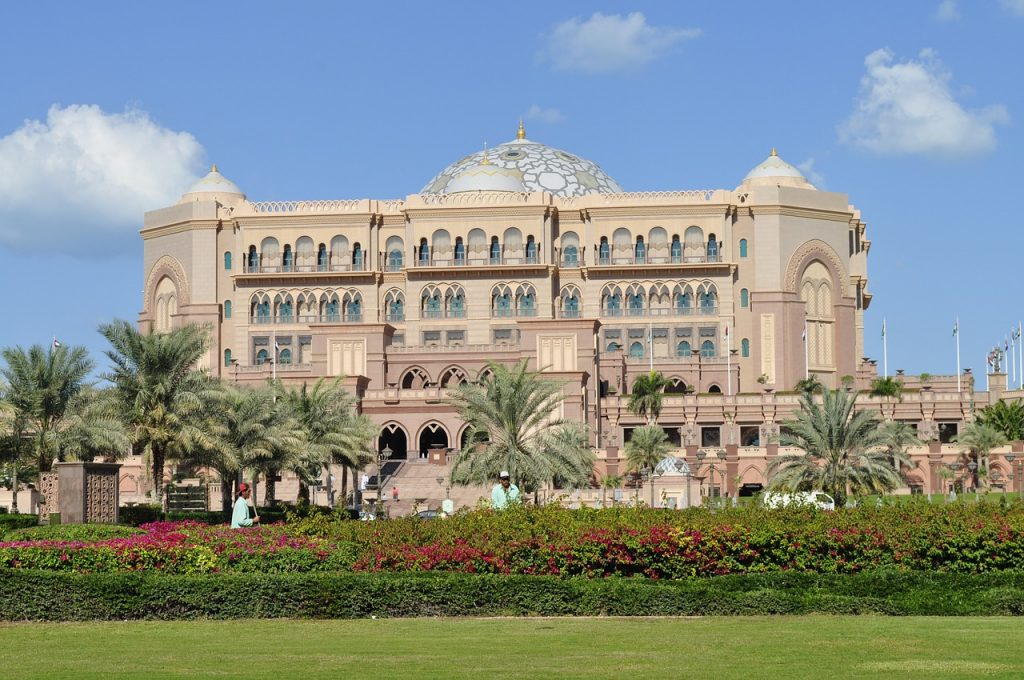 See Emirates Palace during your layover in Abu Dhabi